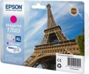Картридж Epson T7023 XL (magenta) пурпурный Ink Cartridge (2к стр.) для WorkForce Pro WP-4015, WP-4025, WP-4095, WP-4515, WP-4525 (C13T70234010)