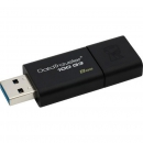 Флеш накопитель 8GB Kingston DataTraveler Traveler 100 G3, USB 3.0, черный (DT100G3/8GB)