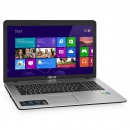Ноутбук ASUS X751LN 17.3 1600х900, Intel Core i7-4510U 2.0GHz, 8Gb, 1Tb, DVD-RW, NVidia GT840M 2Gb, Wi-Fi, Win8.1, black/silver
