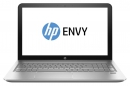 Ноутбук HP Envy 15-ae002ur 15.6 1920x1080, Intel Core i5-5200U 2.2-2.7GHz, 8Gb, 1Tb+8Gb SSD, DVD-RW, NVidia GT940M 2Gb, WiFi, BT, Cam, Win8.1, серебр