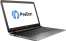 Ноутбук HP Pavilion 15-ab113ur 15.6 1366x768, AMD A10-8700P 1.8GHz, 4Gb, 500Gb, DVD-RW, AMD M360 2Gb, WiFi, BT, Win10, серебристый
