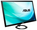 МОНИТОР 27 ASUS VX278H black (LED, LCD, Wide,1920 x1080, 1 ms GTG, 170°/160°, 300 cd/m, 100`000`000:1, +HDMIx 2, +MM) (90LM01I0-B01170)