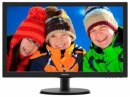 МОНИТОР 21.5 PHILIPS 223V5LSB/10(62) Black (LED, LCD, Wide, 1920x1080, 5 ms, 170°/160°, 250 cd/m, 10M:1)