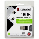 Флеш накопитель 16GB Kingston DataTraveler microDUO, USB 3.0, OTG (DTDUO3/16GB)